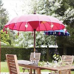 parasol impregneren en waterafstotend / hydrofoob maken