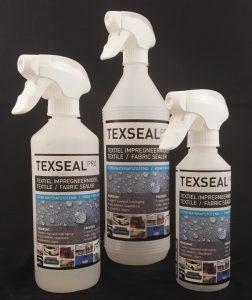texseal Pro, waterafstotende spray, jas waterdicht maken, bank impregneren